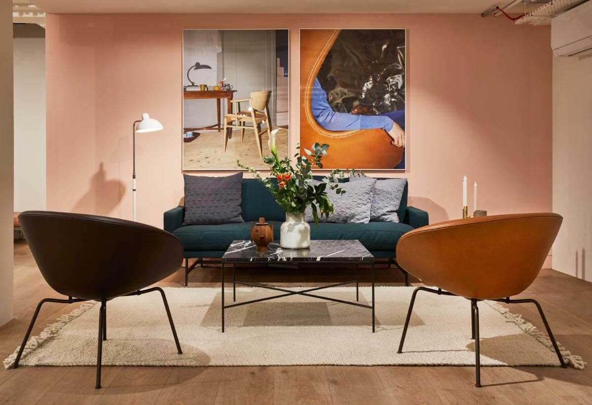 Fritz Hansen showroom in London Clerkenwell 2020 (16)