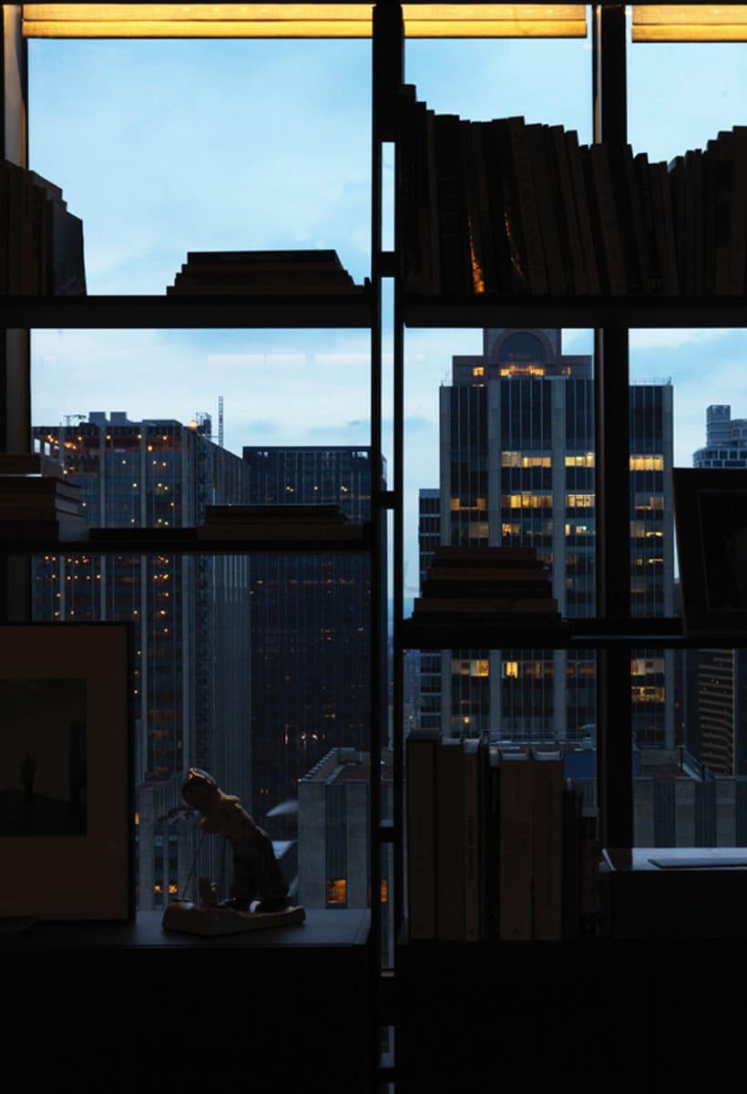 Gioco di specchi a New York