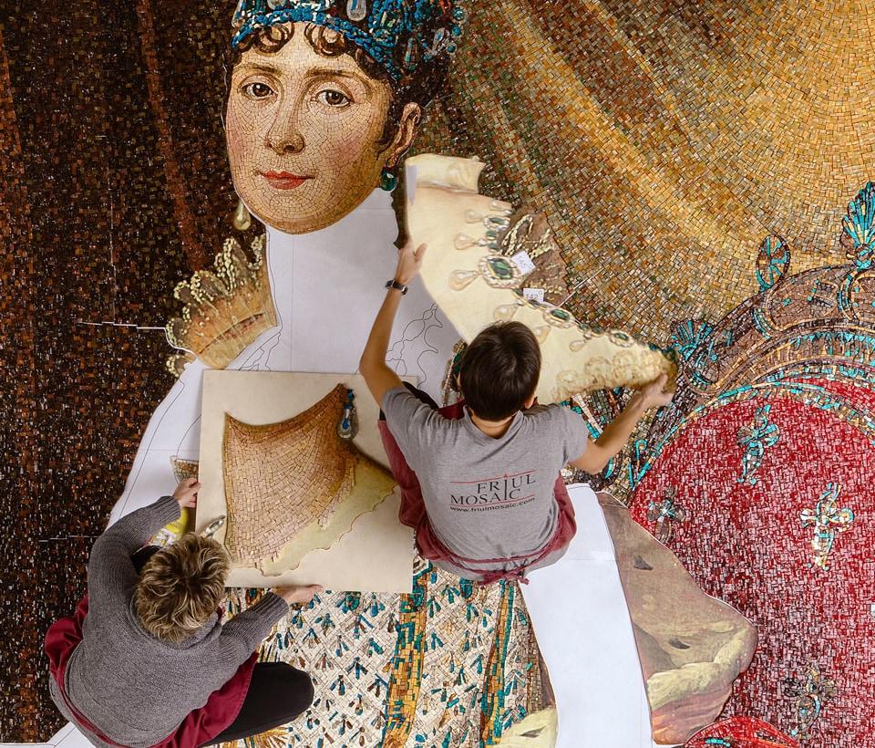 Friul Mosaic posa mosaico Dolce & Gabbana Parigi
