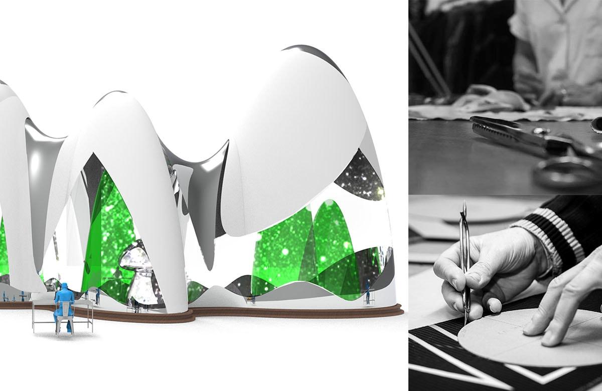 TheOneMilano_sxRendering Progetto Italo Rota e Margherita Palli�dxProgetto_Made in Italy – Making of e Superbrand