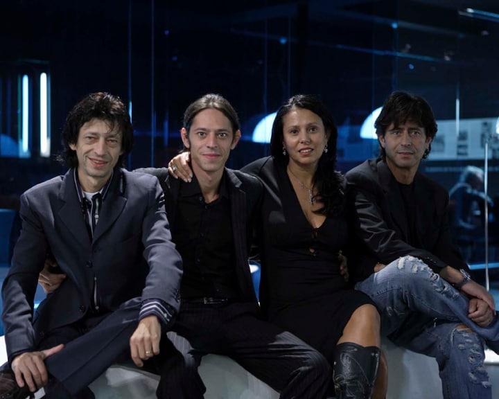 Nello, Andrea, Patrizia e Sergio Lupi