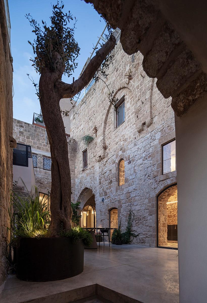 Intorno al patio ottomano