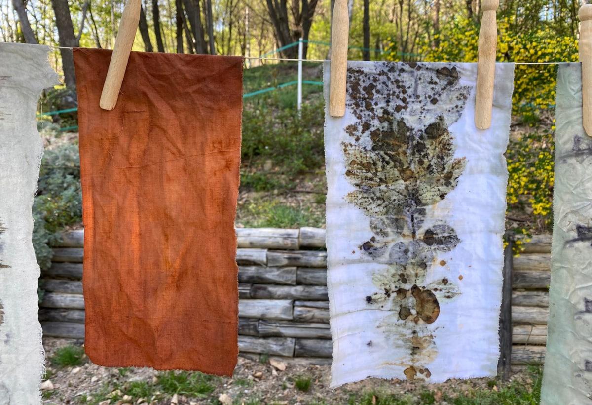 Chiara Maspero – Tessuti naturali – studio 2