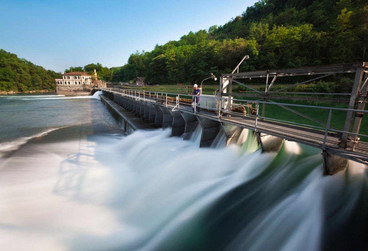 Energia idroelettrica. Centrale di Bertini – Cornate d'Adda