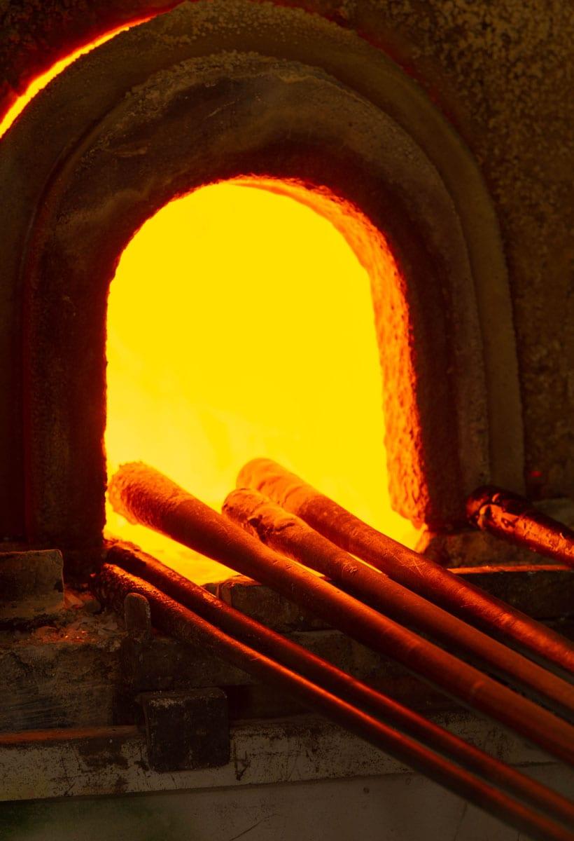 Vetro, fuoco e scienza