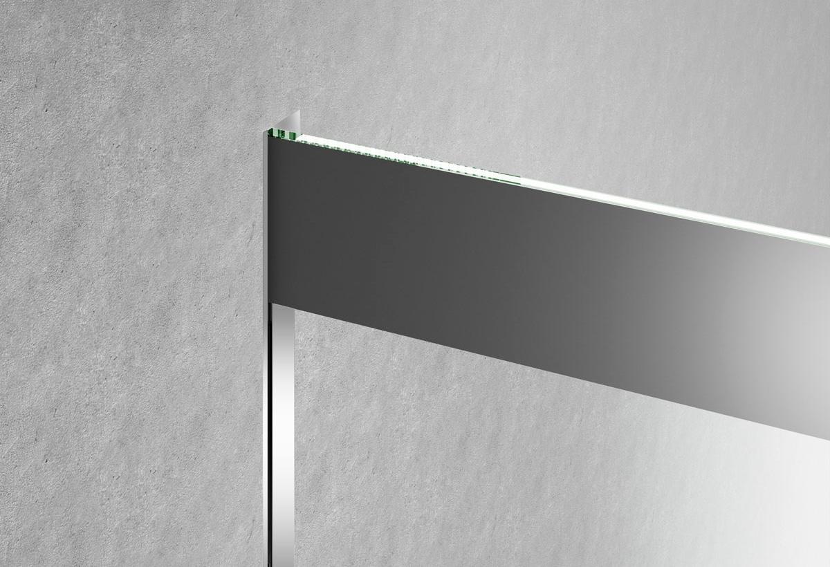 Profilo integrato nella parete