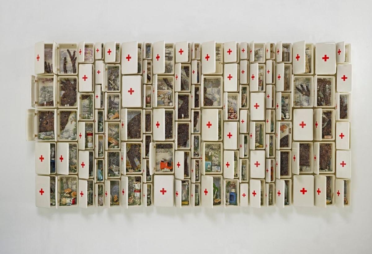 """""""Composizione n. 14"""" 2009 ceramica policroma_1"""