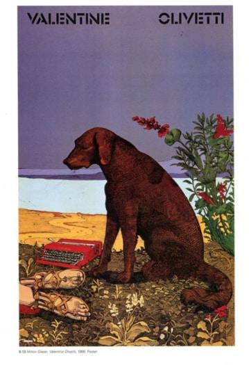 2_Milton Glaser_Valentine_Olivetti_Courtesy of Milton Glaser Studio