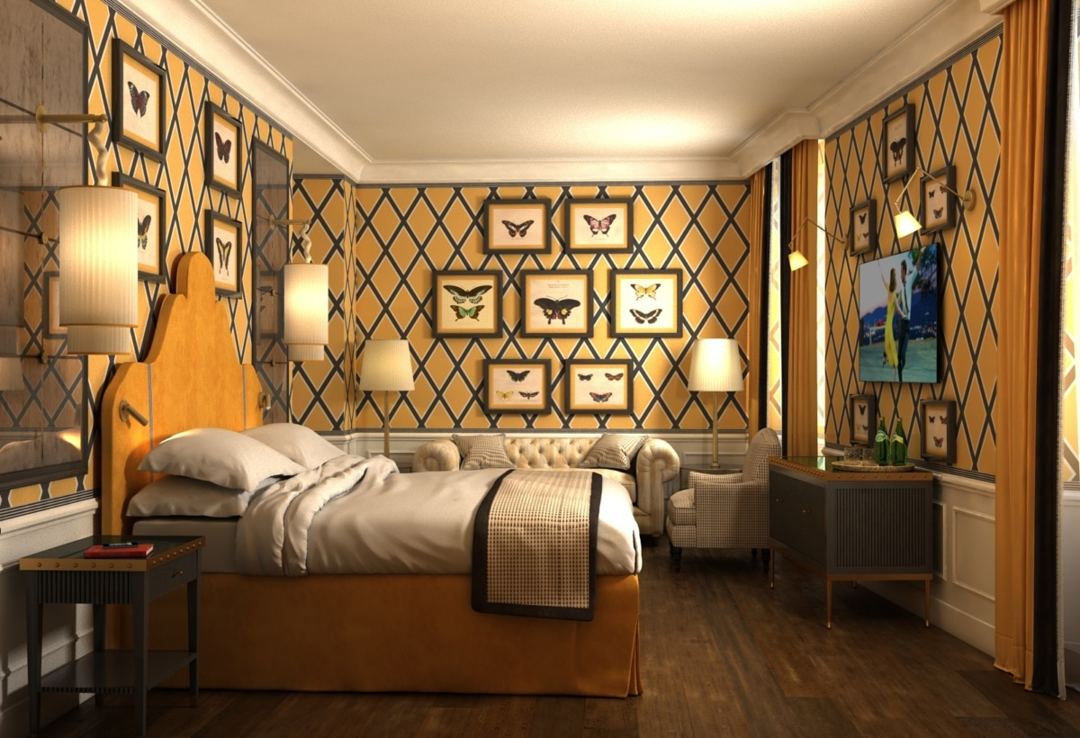 Room hotel Tornabuoni Florence by Andrea Auletta (9)