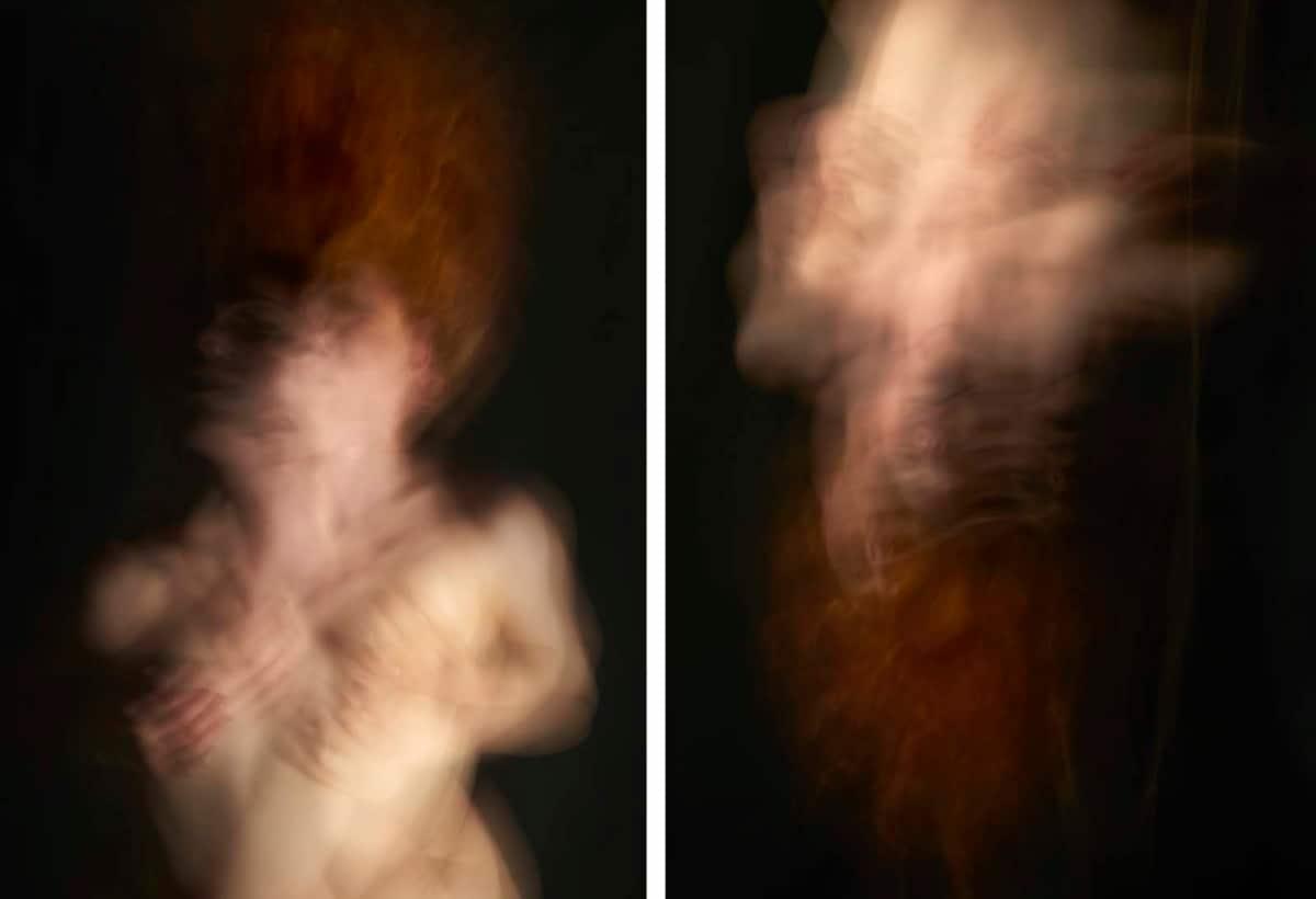 Nell'Acqua 2017 84×60 cm Nel Sogno 2017 84×60 cm