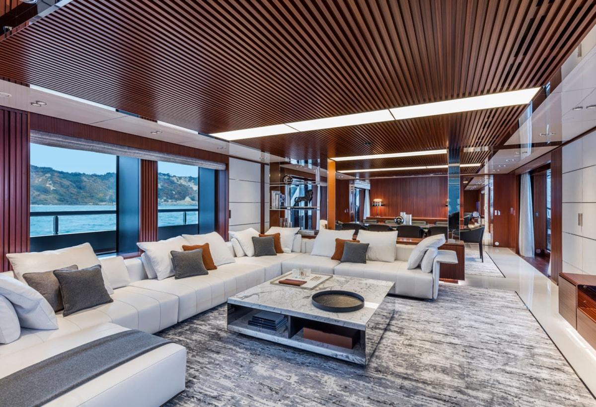 11 Riva 50 Metri Race Interiors 6- main deck salon