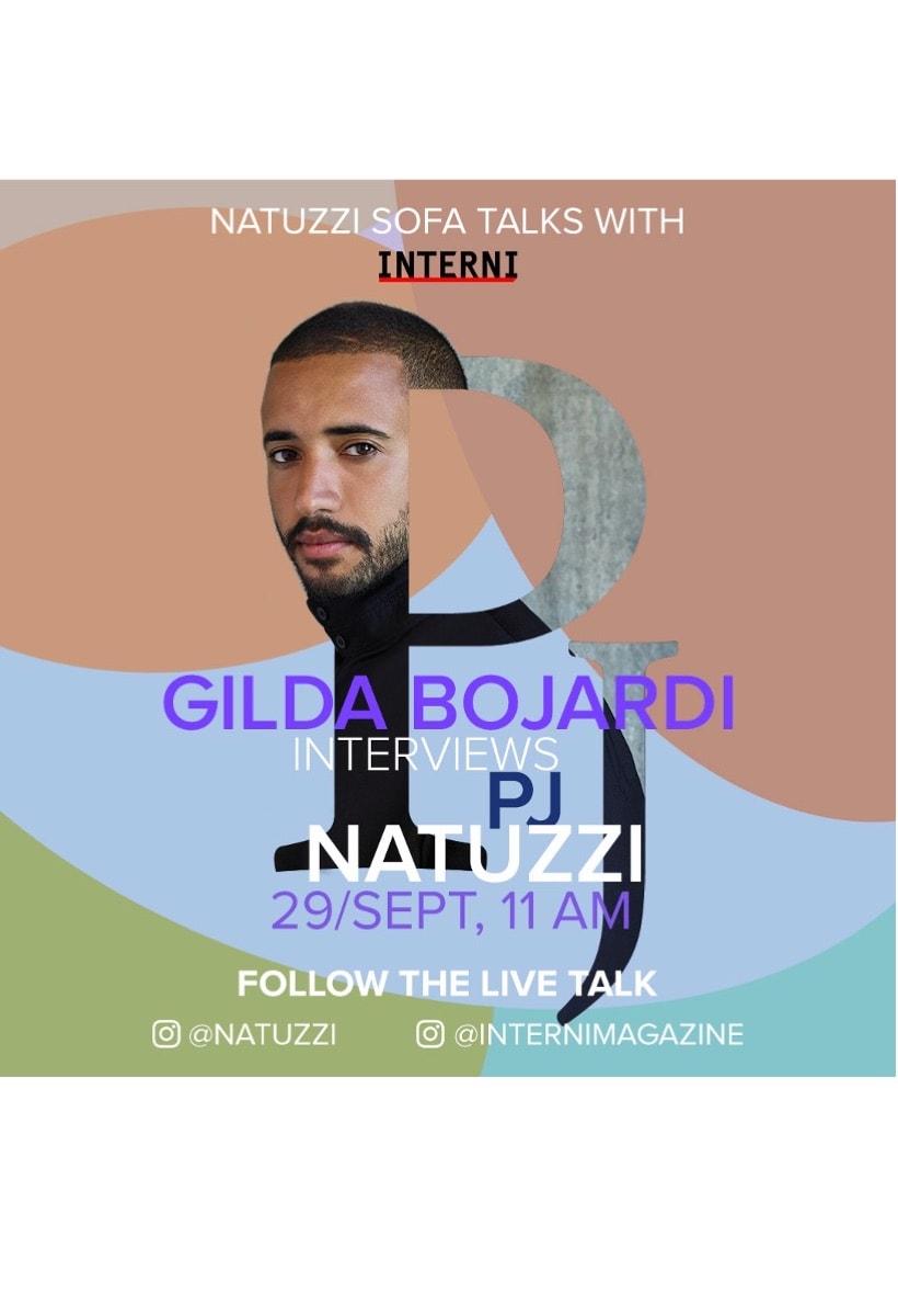 Domani live su Instagram: Gilda Bojardi e PJ Natuzzi