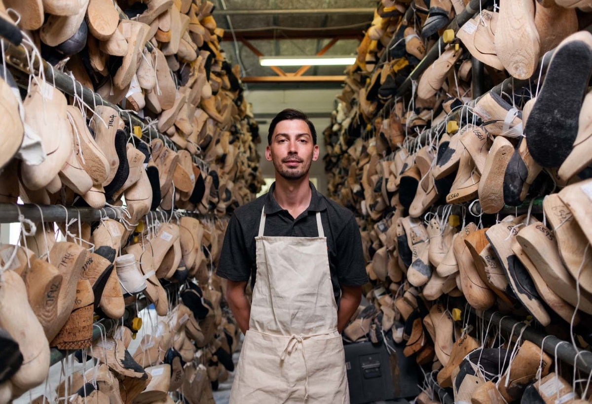 Laboratorio di calzature artigianali