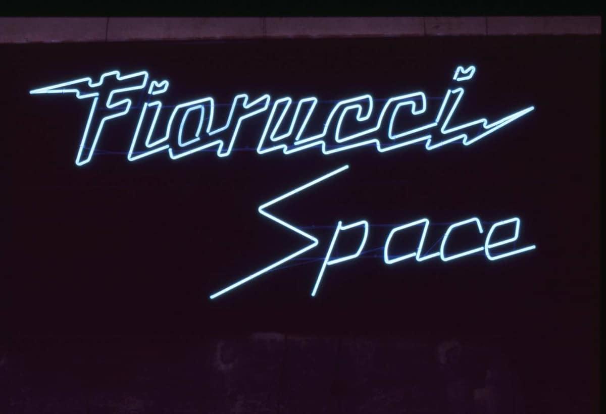 FIORUCCI – Neon Fiorucci Space – negozio San Babila, Milano