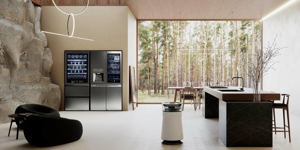 LG SIGNATURE Wine Cellar and Refrigerator
