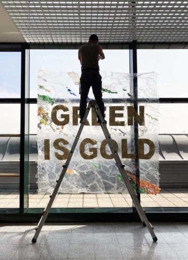 VERA PRAVDA – GREEN IS GOLD – aeroporto di Malpensa – 2020