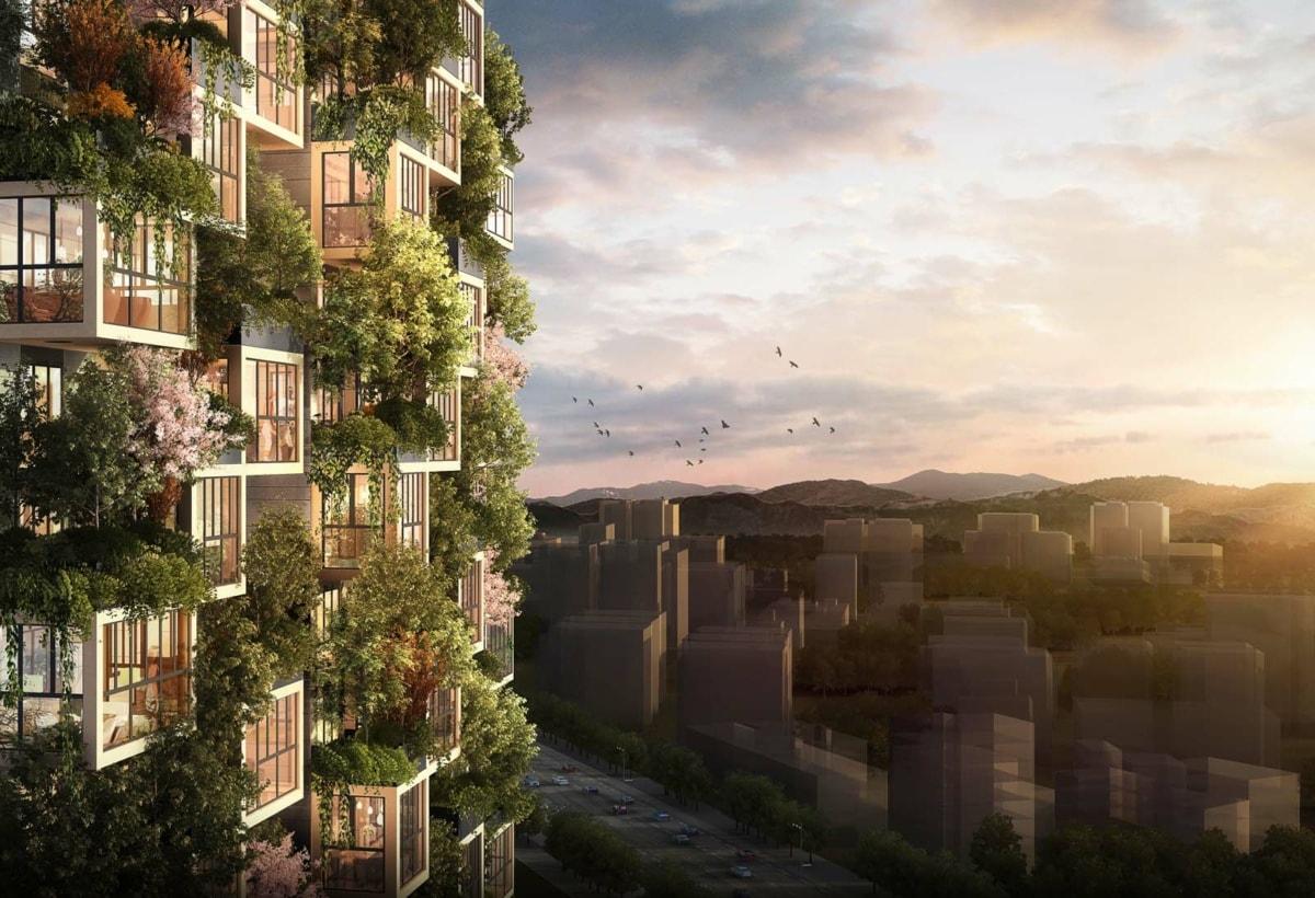 Render Easyhome Huanggang Vertical Forest