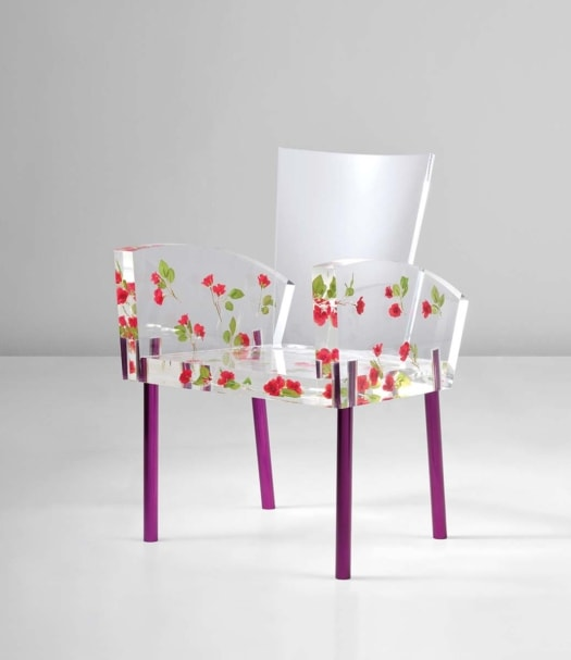SHIRO KURAMATA, 'Miss Blanche' chair, designed 1988 executed 1991