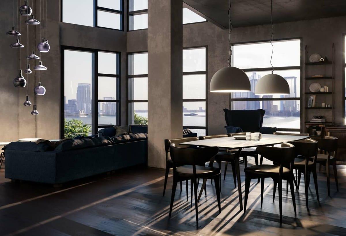 Urban Concrete room set_07