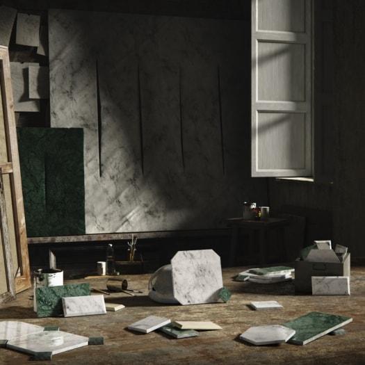 fangoRosa – Marmo – Lucio Fontana-min