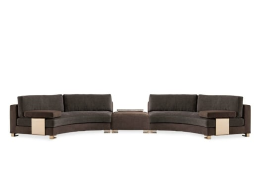 FendiCAsaF Moore Round sofas and Moore Club ottoman 03