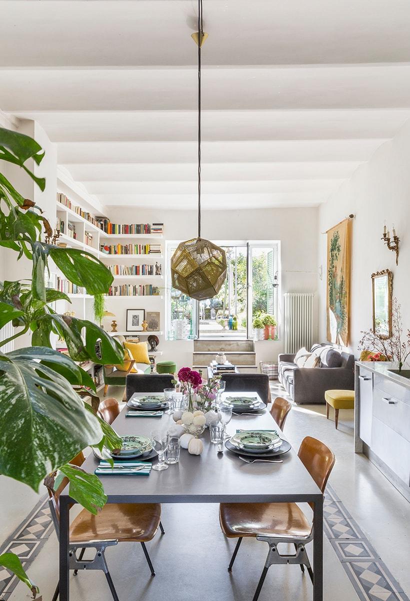 La casa di Dylan Tripp, floral designer