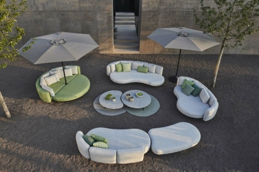 royal botania Organix Lounge birdview