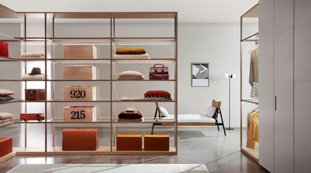 1. Porro_Collezione 2020-2021_Dressing Room Storage_Ciliegio White_Piero Lissoni + CRS dim