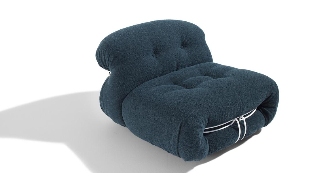 3_CASSINA_Soriana armchair_Afra_Tobia Scarpa