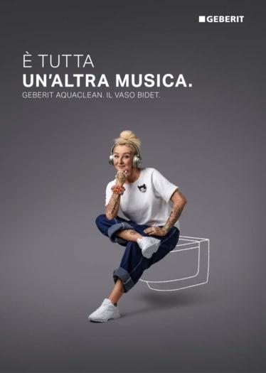 Geberit_Campagna GeberitAquaClean. Un'Altra Musica_La Pina_2021