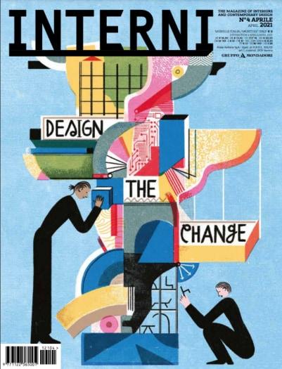 Interni Aprile 2021 Cover by Irene Rinaldi