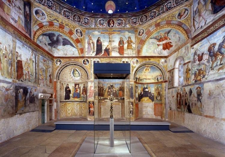 Santa Maria in Solario con CROCE di DESIDERIO