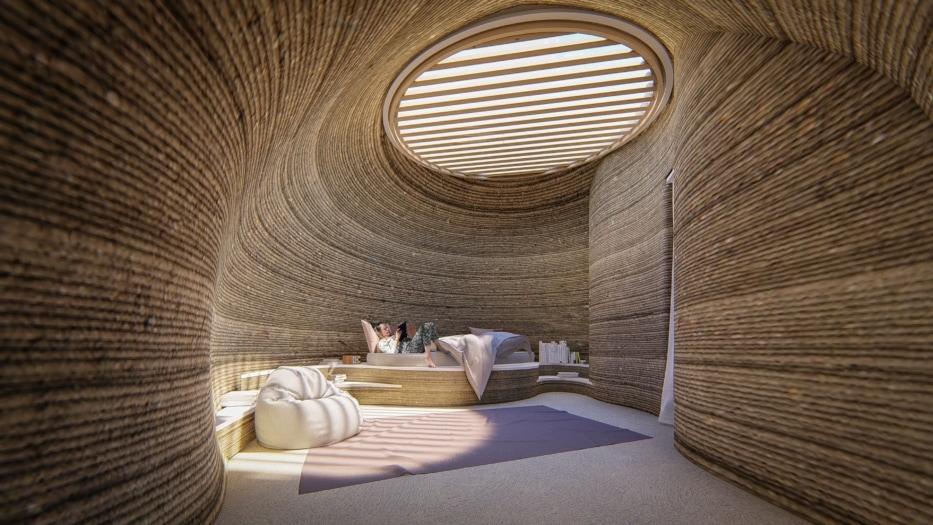 TECLA3DHouse_bedroom_daytime summer © Mario Cucinella Architects-min