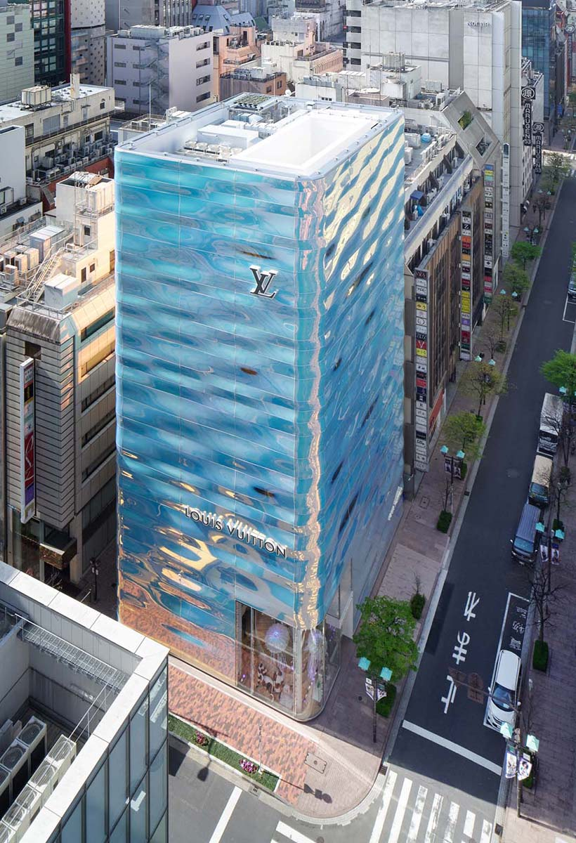 Jun Aoki e Peter Marino per Louis Vuitton a Tokyo