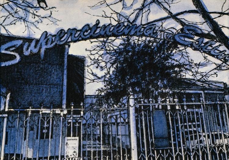 7 – Andrea Chiesi, Anastasis 4, 2021, inchiostro e pennarello su carta, cm 25×35