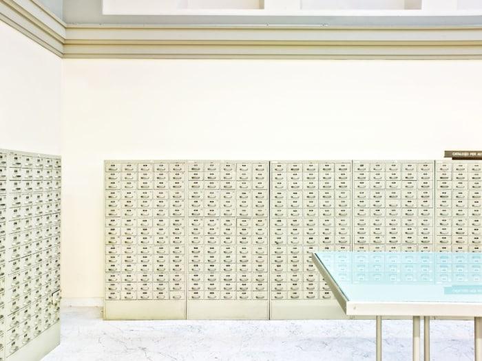 Massimo Siragusa, Biblioteca Nazionale Centrale, Firenze, 2010-min