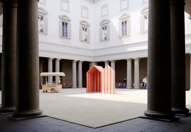 Eventi FuoriSalone 2021 5VIE – Design Variations 2021 MoscaPartners – Una spiagga nel Barocco by Aires Mateus