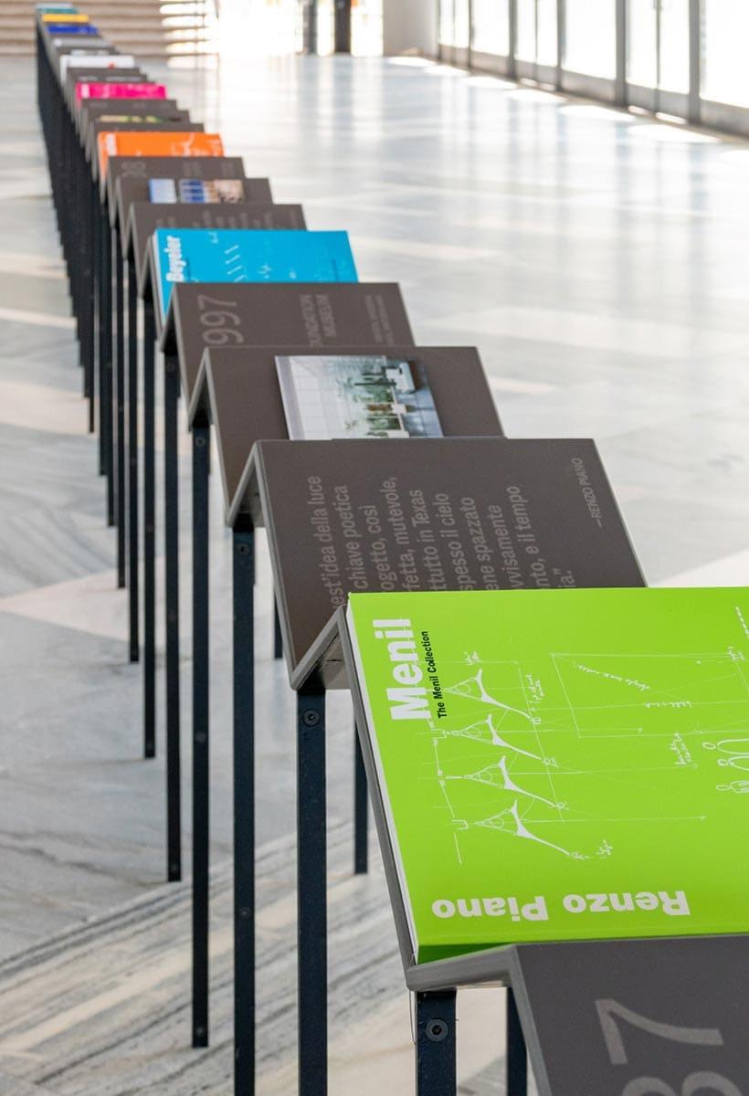L'archivio si racconta. I libri della Fondazione Renzo Piano