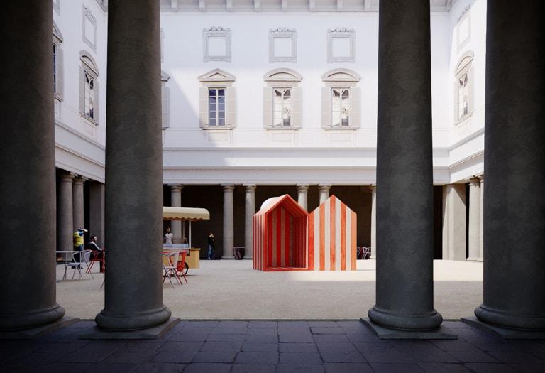 Eventi_FuoriSalone 2021_5Vie_Design Variations 2021_Palazzo Litta_Beach in the Baroque by Aires Mateus orizzontale