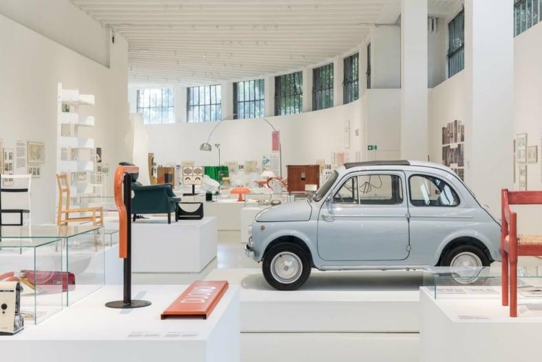 FuoriSalone 2021_Eventi_Museo del design Italiano_allestimento – © Triennale Milano – foto Gianluca Di Ioia