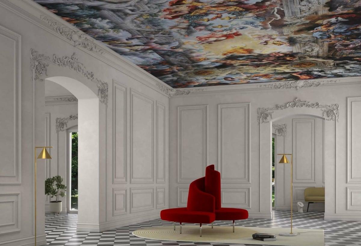 Roberto Semprini Collapse, Neo-Baroque per Zambaiti Parati + Tatlin Edra