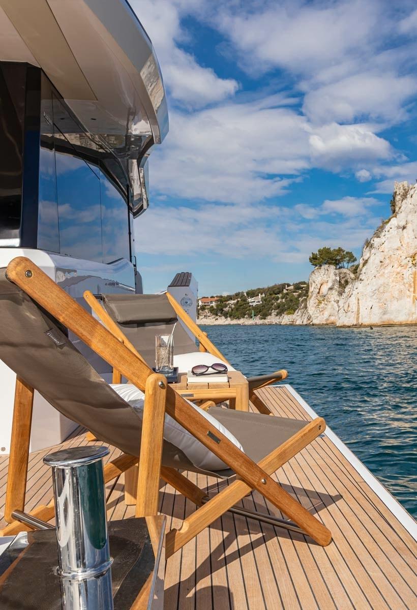 Pardo Yachts Endurance 60, affaccio sul mare