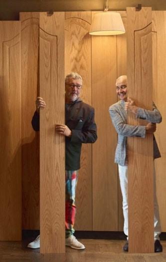 FuoriSalone 2021 Bottega Ghianda Pieces of Styles_Philippe Starck e Romeo Sozzi