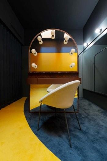 FuoriSalone 2021 Vietato l'Ingresso camerini TAM Teatro Arcimboldi Milano Atelierzero