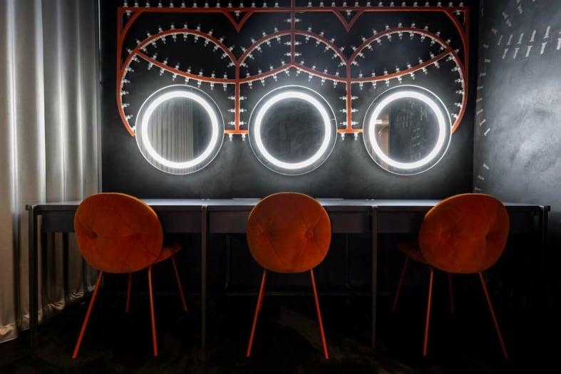 FuoriSalone 2021 Vietato l'Ingresso camerini TAM Teatro Arcimboldi Milano Park Associati