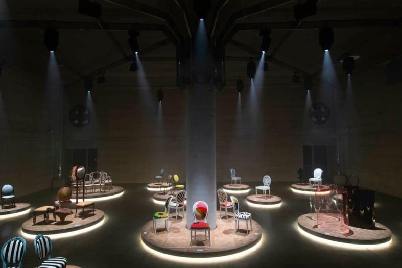 FuoriSalone 2021 eventi Dior The Dior Medallion Chair ©Alessandro Garofalo_ 21