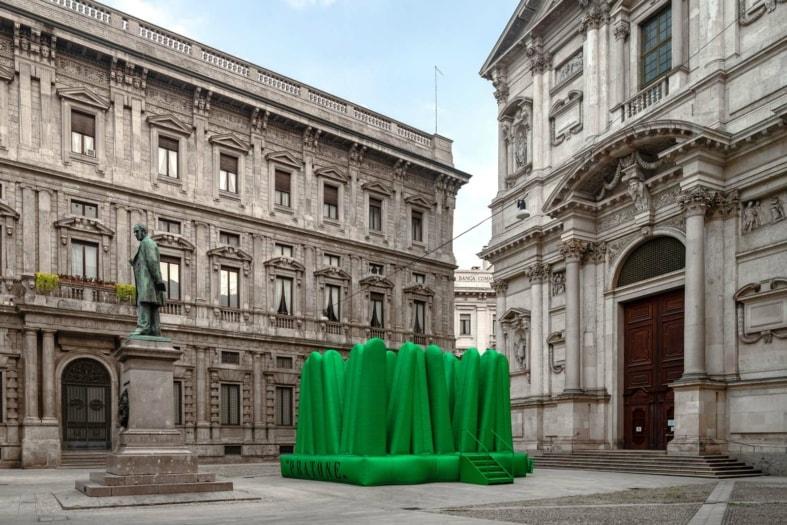 FuoriSalone 2021 eventi GUFRAM_SUPER PRATONE_Milano Design Week_ph Roberto Conte_6
