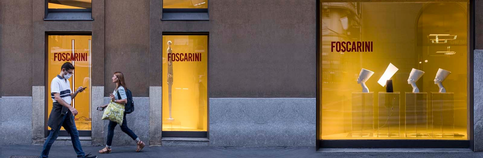 Fuorisalone 2021 Foscarini Monforte