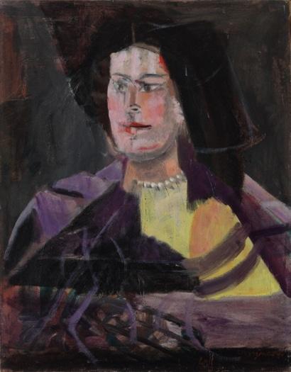 Ritratto di giovane donna, 1949