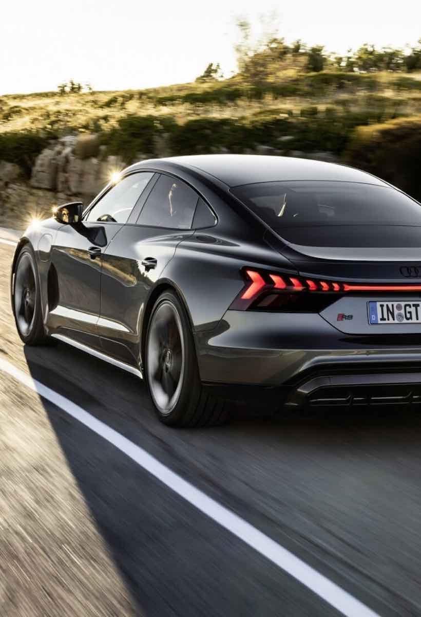 Audi e-tron GT: il design nasce dall'efficienza